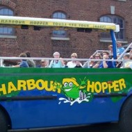 Visit to Halifax. Riding the Harbour Hopper!