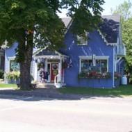 Mahone Bay shops.