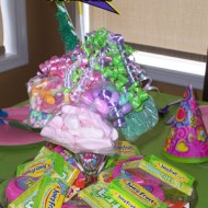 the candy bouquet…