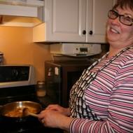 some 'Grammie' LOVE in the kitchen…