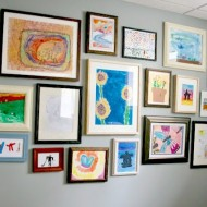 Kids' Art Gallery Wall…