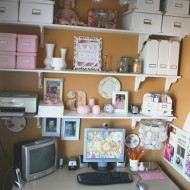 My favourite little corner….my office nook.