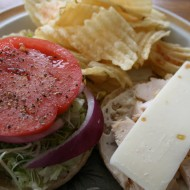 a perfect summer lunch for one…