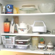 Organizing A Tea & Coffee Cupboard