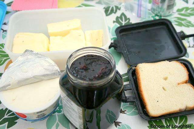Blueberry & Cream Cheese Fire Iron