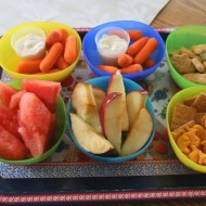 Menu Plan Monday & Snacks for Kids….