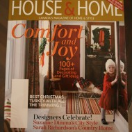 Have you seen the November issue of Canadian House & Home?