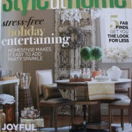 The November Issue of Canada's Style at Home…