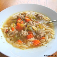 Delicious Italian Wedding Soup…