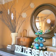 Christmas Mantel 2010