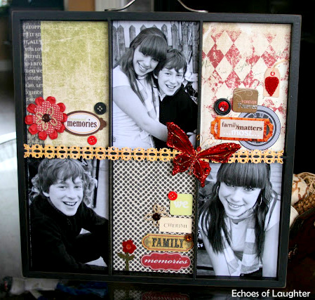 Christmas Photo Trays