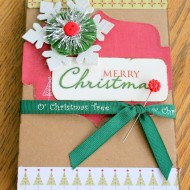 Make A Simple Christmas Scrapbook
