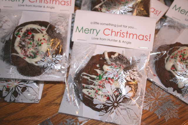 Packaged Christmas Cookie Gift Idea Echoes Of Laughter