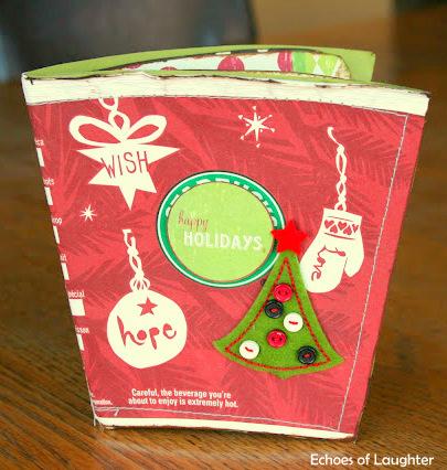 Starbuck Cup Christmas Scrapbook Album