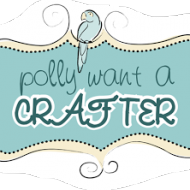 "I'm being featured at ""Polly Want  A Crafter"" today…"