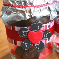 Cookies In A Jar for Valentine's Day