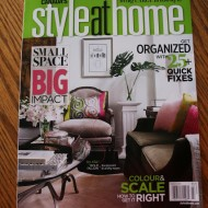 I  L.O.V.E. when new decor magazines arrive in the mail…