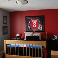 A Boy's Room Makeover That Scores The Goal…