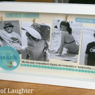 Vacation Memories Shadow Box Keepsake