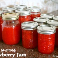 Easy To Make Strawberry Jam