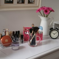 Style & Organization for a Girly Dressing Room…