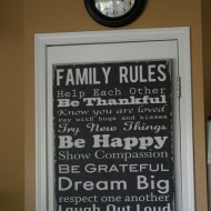 Family Rules….