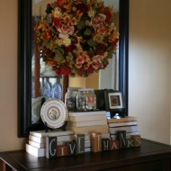 A Little More of Fall Decor…