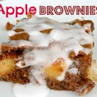 Decadent Apple Brownies