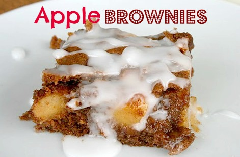Decadent Apple Brownies - Echoes of Laughter