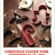 Announcing 'Christmas Cookie Week'….