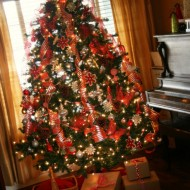 Our Red & White Tree…