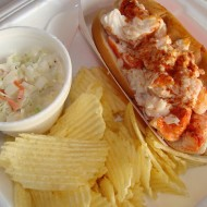 Our Christmas Eve Dinner….Lobster Rolls…