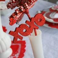 Valentine Sweet-spiration Week: Table Decor…