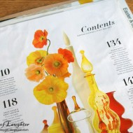 Organizing Magazine Tear Sheets