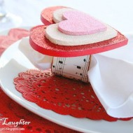 Sweetheart Napkin Rings