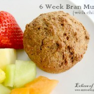 6 Week Bran Muffins with Chia Seeds