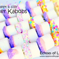 Marshmallow Kabobs for Easter