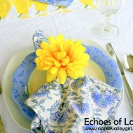 Easy Napkin Rings For Spring