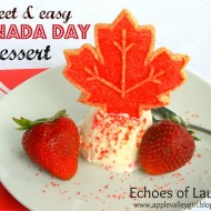 Sweet & Easy Canada Day Dessert…