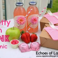 A Pretty In Pink Picnic