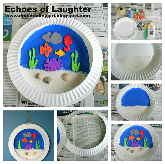 sea life collage kids 39 craft echoes of laughter