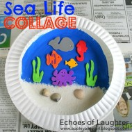 Sea Life Collage {Kids' Craft}