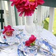 A Peony Tea Party for Two