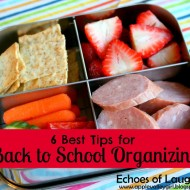 6 Best Organizing Tips for Back To School
