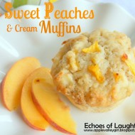 Sweet Peaches & Cream Muffins