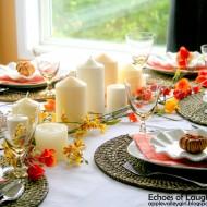 A Pretty Fall Table