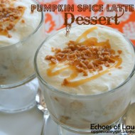 Easy Pumpkin Spice Latte Trifle