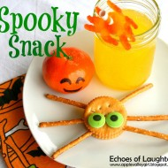 Spooky Spider Snack