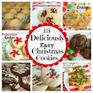 13 Easy Christmas Cookies