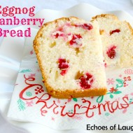 Eggnog Cranberry Bread…